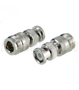Coaxial Adapter, Type-N Female / BNC Male