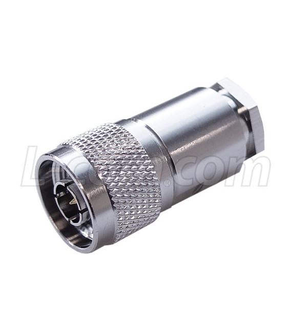 Conector N macho p/ armar, RG8 CA-400
