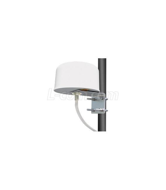 2.4 / 5 GHz 4/6 dBi Omni-Directional 4x4 MIMO Antenna - RP-SMA Plug