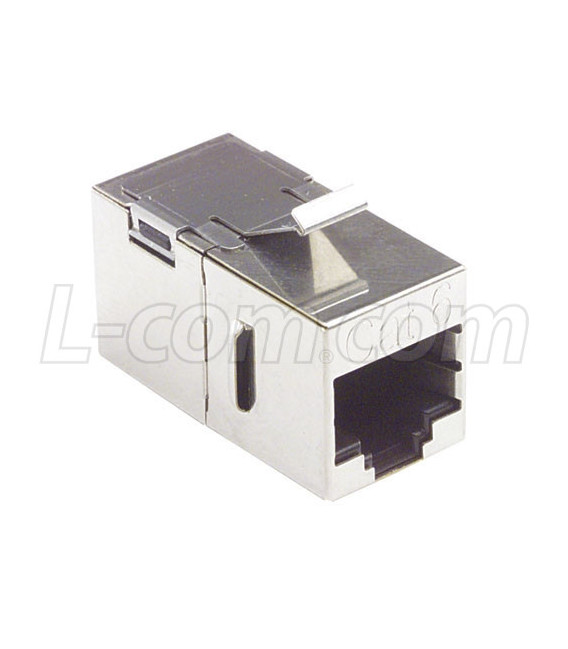 Cat6 Coupler -Shielded RJ45 (8x8) Keystone F/T