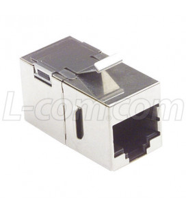 Cat5e Coupler -Shielded RJ45 (8x8) Feed-thru
