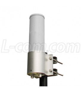 2.4 GHz 6 dBi Dual Polarity Omnidirectional MIMO/802.11n Antenna - N-Female Connectors