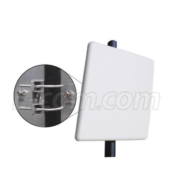 Panel direccional 23 dbi 4.9-5.8 GHz, L-com