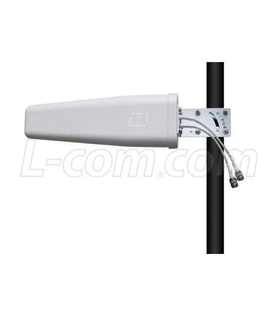 Yagi dople pol. 17 dBi, 4.9-5.8 GHz L-COM