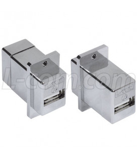USB Adapter A-A, Shielded