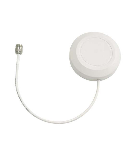 2.4 GHz 8 dBi Round Patch Antenna - 10in N-Male Connector