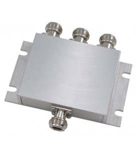 3-Way Low PIM Rated 750-2700 MHz DAS Signal Splitter