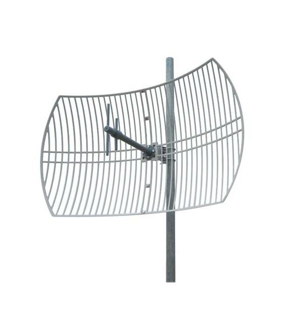 824-960 MHz 15 dBi Die-cast Grid Antenna