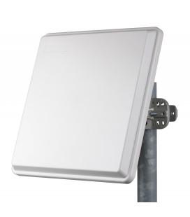 Antena Panel Sectorial Doble Polarizacion de 15dBi 120º 5.15-6.1 GHz 2 Conectores N Hembra