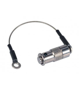 ST Dust Cap for MIL & Ruggedized COTS Couplers, Stainless Steel