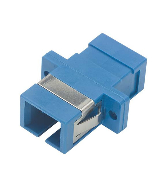 Fiber Coupler, SC / SC (Plastic Body), Ceramic Alignment Sleeve