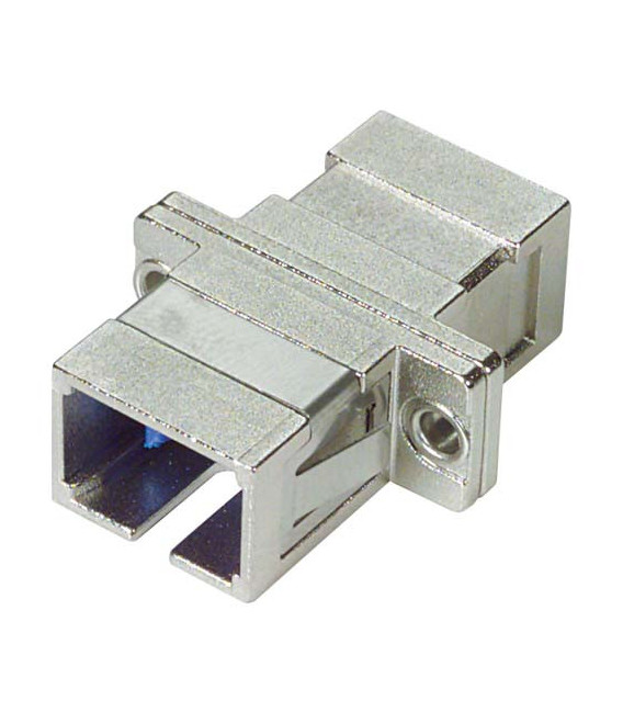 Fiber Coupler, SC / SC (Metal Body), Bronze Alignment Sleeve