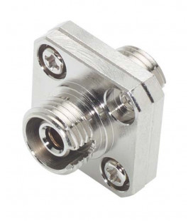 Fiber Coupler, FC / FC (Square Mounting), Bronze Alignment Sleeve