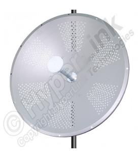 Antena parabólica 32dBi de Doble Polaridad disco solido 4.9-5.8 ghz 30 decibelios marca L-Com