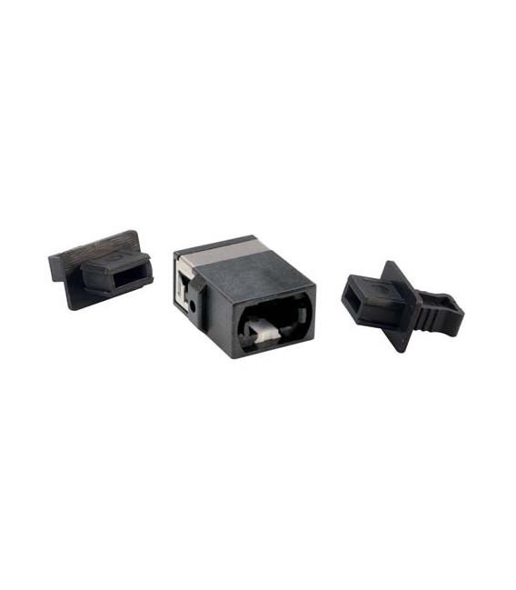 Fiber Optic MPO Coupler, Black