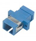 Fiber Coupler, SC / SC (Plastic Body), Bronze Alignment Sleeve
