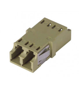 LC Duplex MM/SM Keyed Coupler Olive