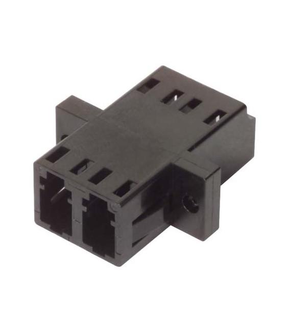 Fiber Coupler, LC/LC Duplex Ceramic Sleeve, Low Profile