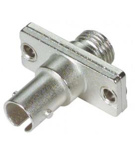 Fiber Adapter, ST / FC (Rectangular Body), Ceramic Alignment Sleeve