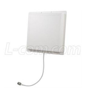 900 MHz 8 dBi RH Circular Polarized Patch Antenna-12in N-Female Connector