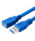 USB 3.0 Cable Type A Male/Female Extension, 1.0M