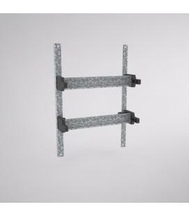 Chasis para Aparellaje Modular (17.5mm) Capacidad para 20 módulos, BRES-325 (en 2 filas)