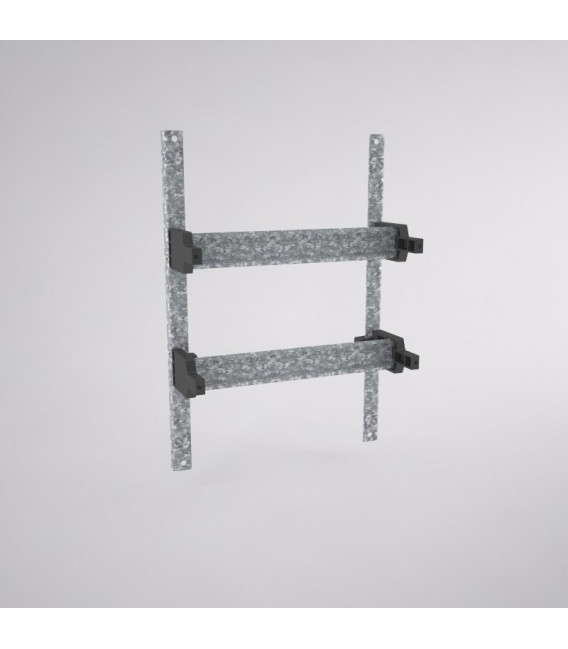 Capacidad para 24 módulos, BRES-43 (en 2 filas)