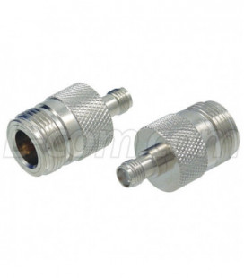 Coaxial Adapter, N-Female / SMA Female