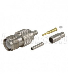 RP-TNC Jack Crimp for RG174/188/316 & 100-Series Cable