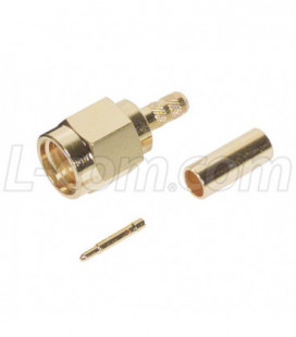 SMA Male Crimp for RG174, 188, 316 Cable (Gold)