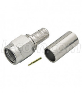SMA Male Crimp for RG174, 188, 316 Cable