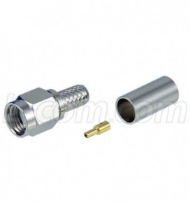 RP-SMA Plug Crimp for 200-Series Cable