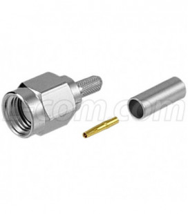 RP-SMA Plug Crimp for 100-Series Cable