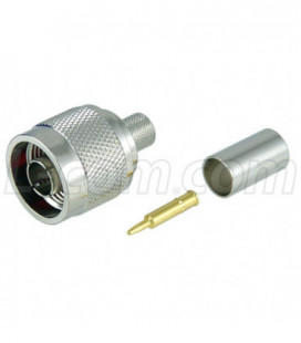 Type N Male Crimp for 300-Series Cable