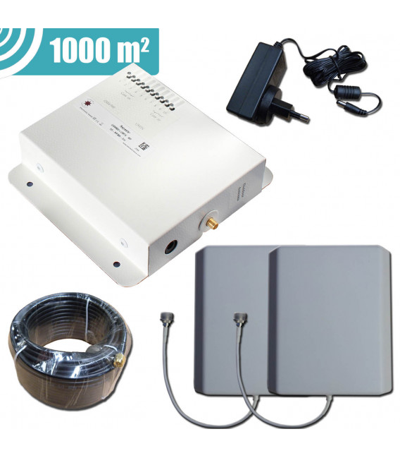 Kit Repetidor de señal 800 MHz solo 4G - Stella Home
