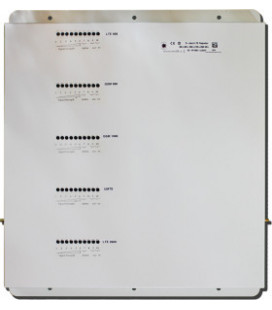 Kit Repetidor de señal 5 bandas 800,900,1800,2100,2600Mhz GSM 3G 4G