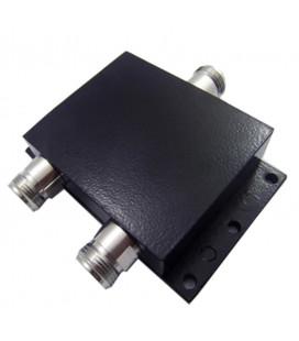 Divisor 800 MHz a 2.4 GHz, 2 vias