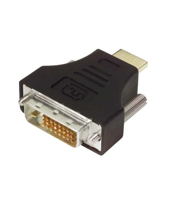 DVI Adapter, DVI-D Male / HDMI Male