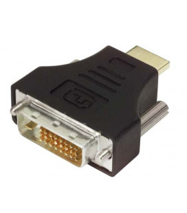 DVI Adapter, DVI-D Male / HDMI Male