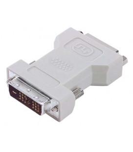 DVI Adapter, DVI-D Male / DVI-I Female