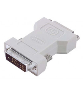 DVI Adapter, DVI-D Male / DVI-I Female