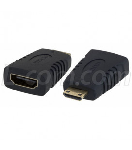 HDMI Type C Male to HDMI Type A Female Adapter