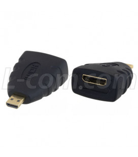HDMI Type D Male to HDMI Type C Female Adapter