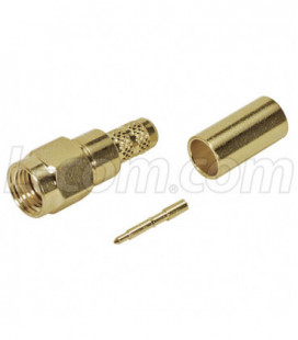SMA Male Crimp for Belden 7807 Cable