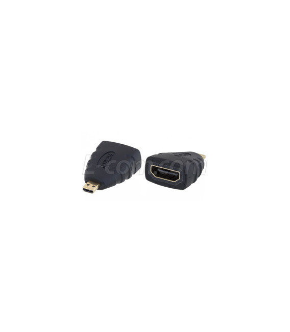 HDMI Type D Male to HDMI Type A Female Adapter