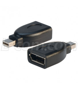 DisplayPort Female to Mini DisplayPort Male Adapter