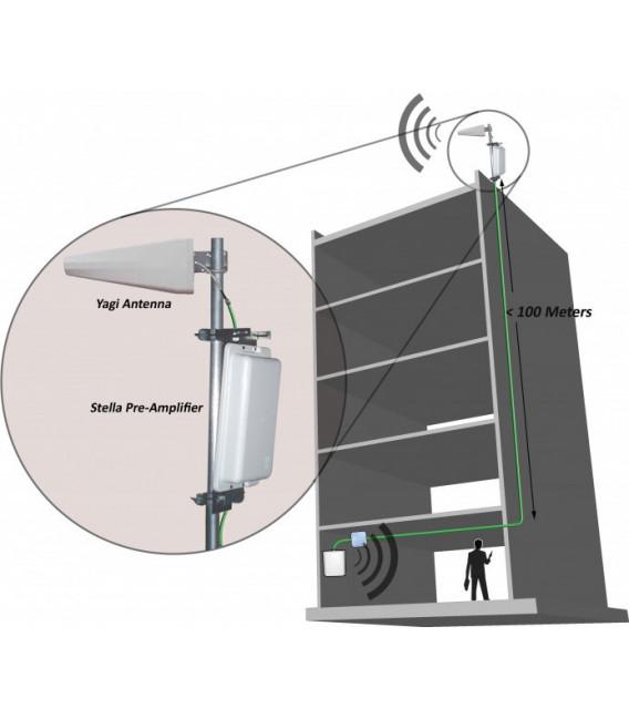 Pre amplificador banda 3G (1900-2100 Mhz)