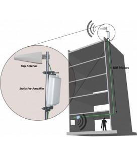 Pre amplificador banda GSM900 Mhz