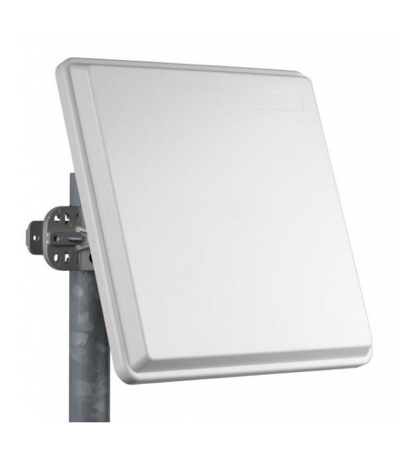 Antena Panel Direccional Doble Polarizacion de 25dBi 4.9-5.875 GHz 2 Conectores N Hembra