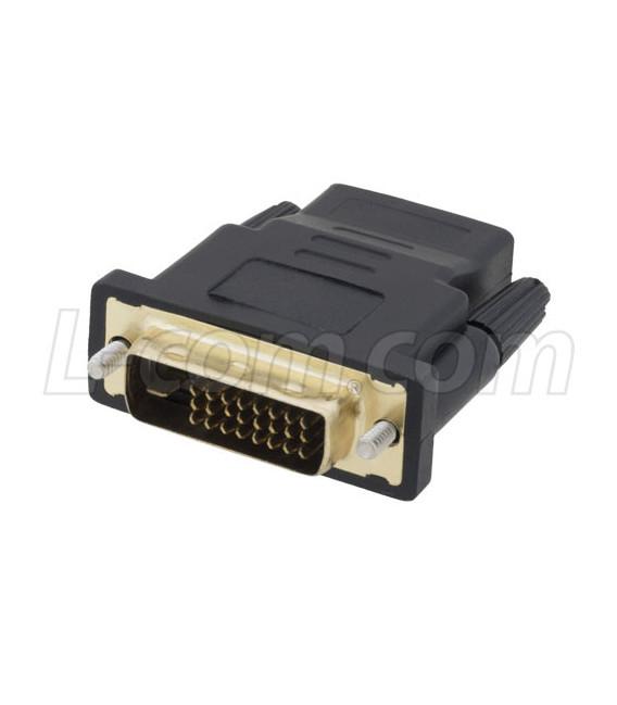 DVI 24+5 male to HDMI female adaptor